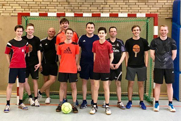 Fußballprofis der Tischtennisabteilung