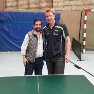 Sebastian Wolfertz mit Christian Süß