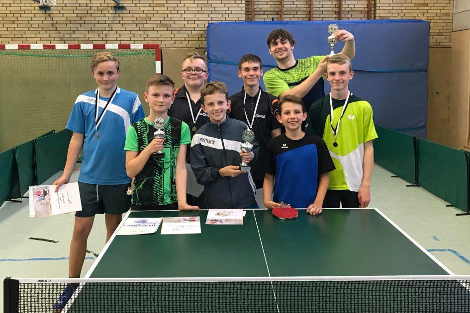 Vereinsmeisterschaften der Jugend 2018