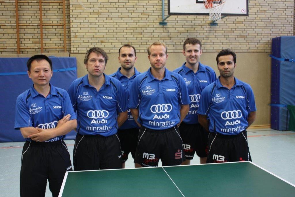 Mannschaft 2. Bundesliga