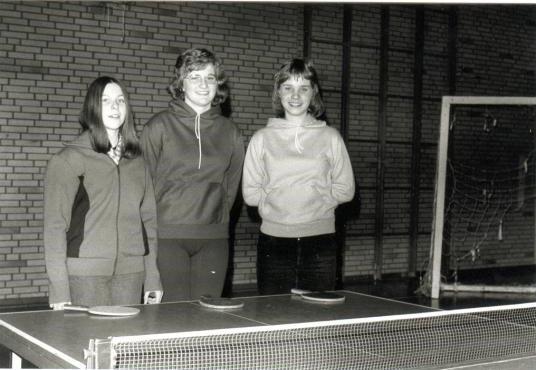 1. Damenmannschaft 1974