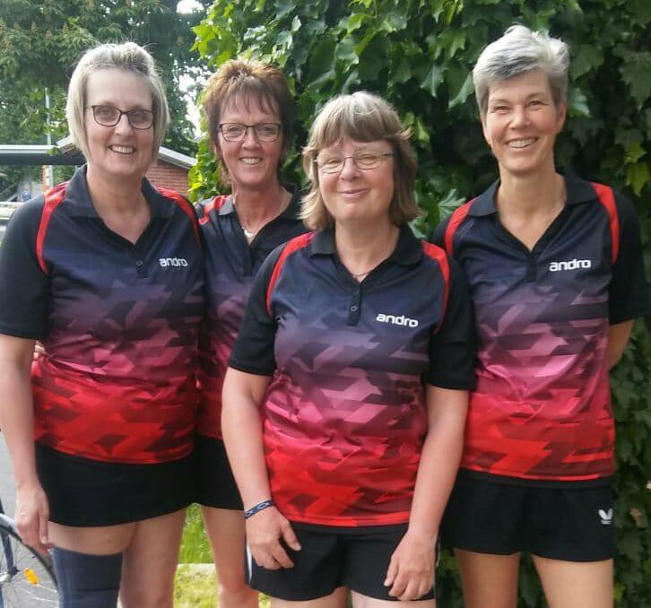 Seniorinnen bei den deutschen Meisterschaften