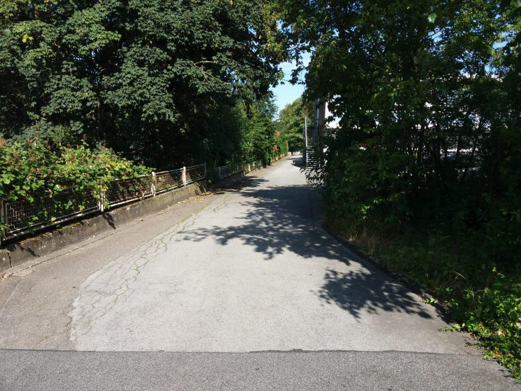 Blick von der Johannes-Jansen-Straße